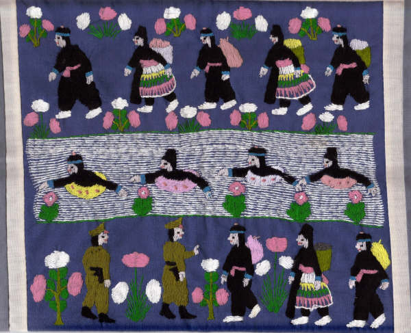 Springfield, MA - Our Plural History : hmong story quilt - Adamdwight.com